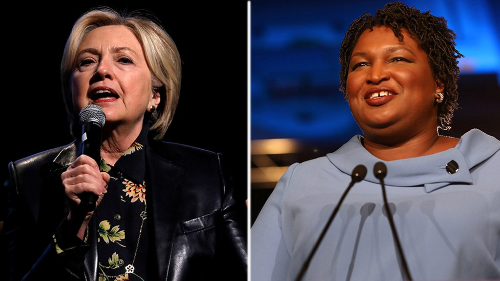 Hillary: Abrams would be Georgia's new guv if given 'fair election'