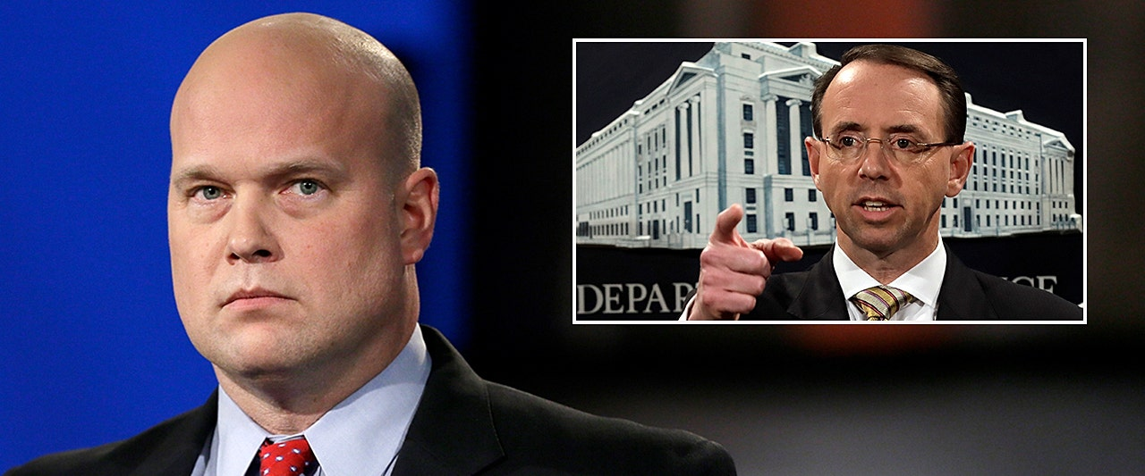 State calls Whitaker appointment as acting AG unlawful, asks judge to tap Rosenstein