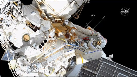 WATCH: Russian cosmonauts conduct spacewalk