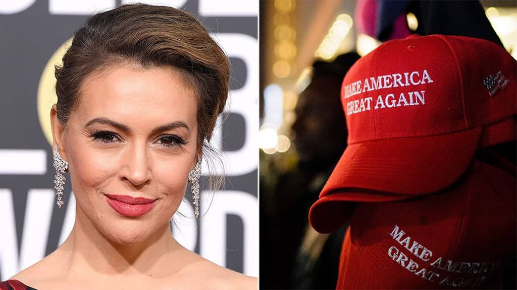Alyssa Milano has shocking new claim about the MAGA hat