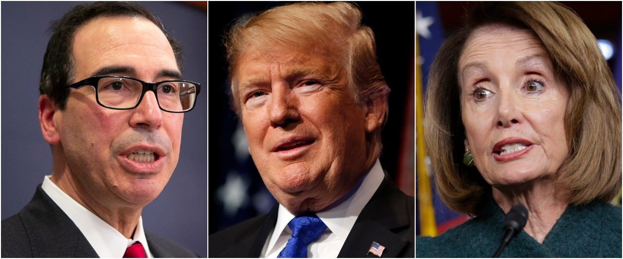 Citing impasse, Trump cancels US delegation to Davos after postponing Pelosi's three-nation tour