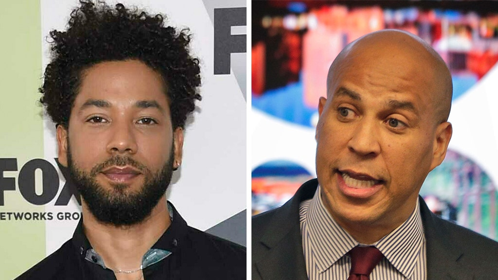 Booker 'withholding' judgment on Smollett case after sharper criticism
