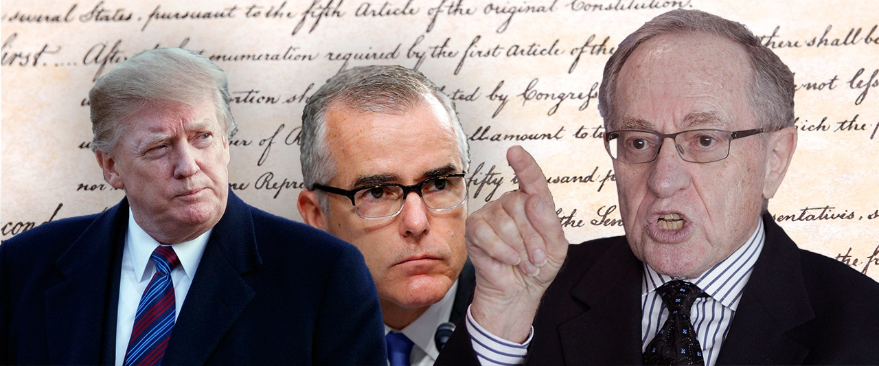 Legal legend says alleged FBI-DOJ plot described by McCabe was 'attempt at a coup d'etat'