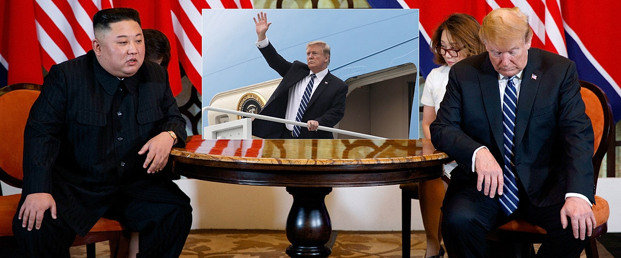 Trump bolts nuke negotiations after North Korea won't budge; says 'sometimes you have to walk'
