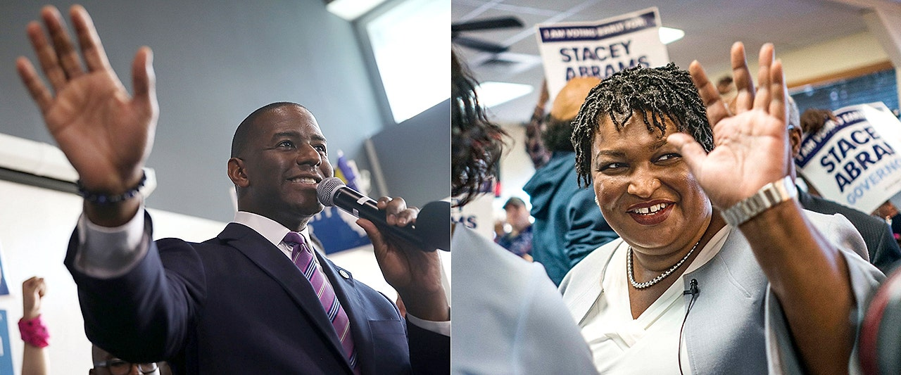 Dem gov-seat losers Abrams and Gillum still lamenting, questioning outcomes months later