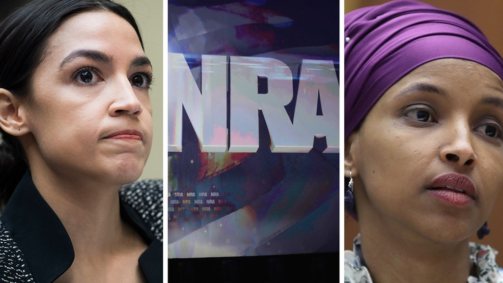 AOC, Omar get defensive after NRA official's prediction