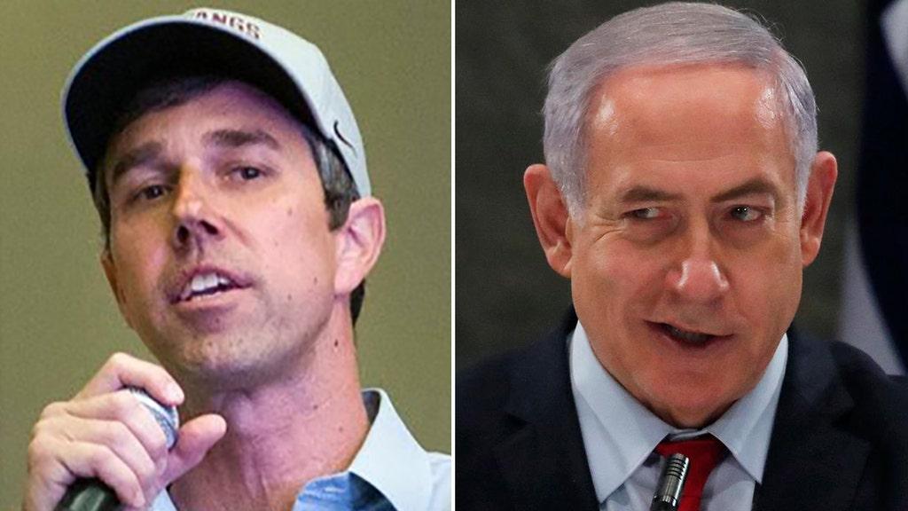 O'Rourke calls Israel's Netanyahu 'racist,' obstacle to peace