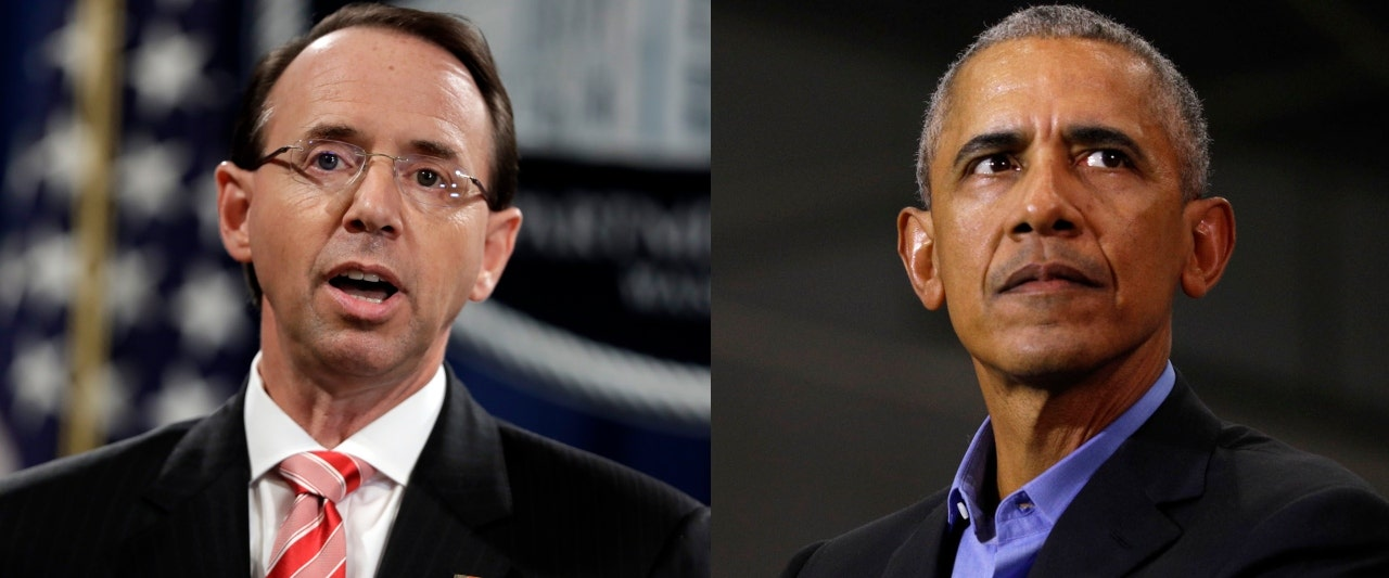 Deputy attorney general blasts former president's admin on reaction to Russia hack, hits Comey
