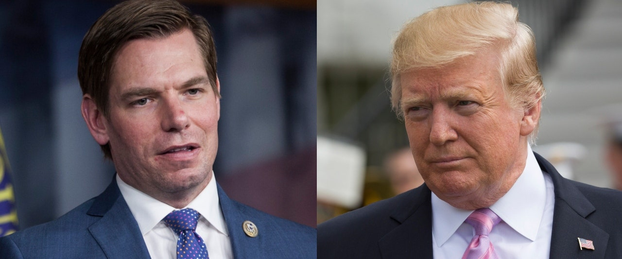Swalwell asked if he still believes Trump is a Kremlin asset after Mueller report, dodges question