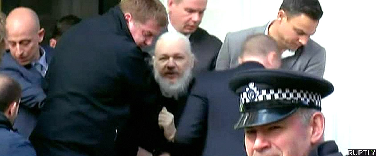 WikiLeaks chief nabbed by British police moments after Ecuador boots him from London Embassy