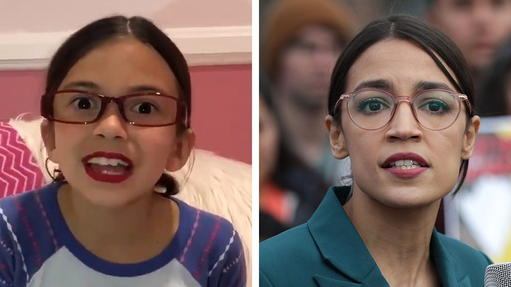 Mini AOC impersonator strikes again, pokes fun at Green New Deal