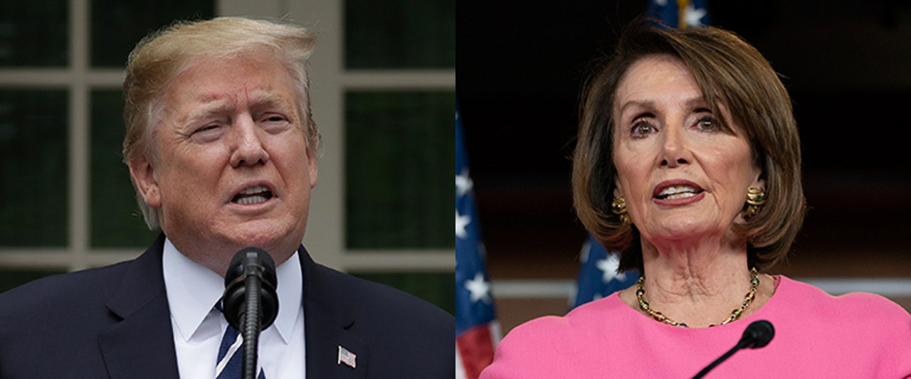 Trump says Pelosi has 'lost it,' has WH officials back up his demeanor, at wild news conference