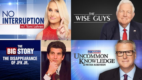 Binge new episodes and documentaries on Fox Nation