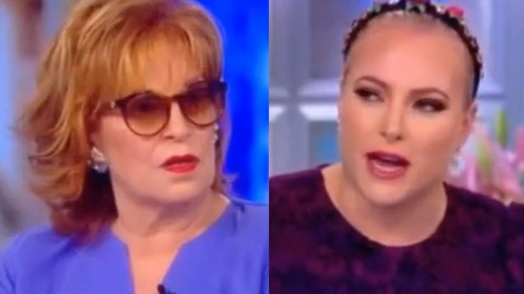 McCain appears to use vulgarity during heated debate with Behar over Trump