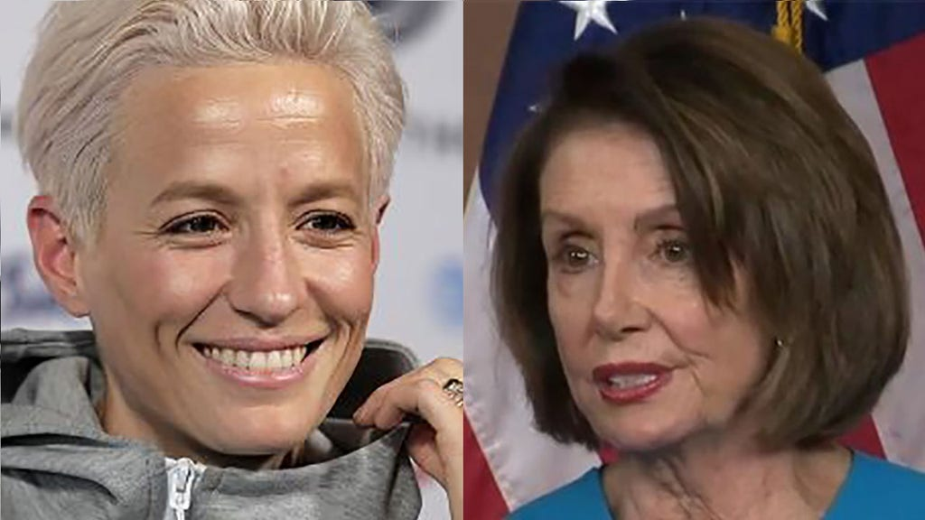 Rapinoe says she'll meet AOC, Pelosi, but will snub White House