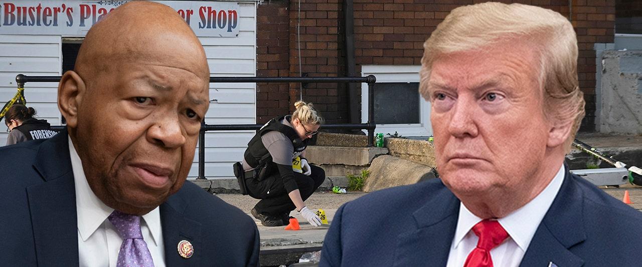 Trump slams 'brutal' Cummings, calls rep's district 'more dangerous' than border