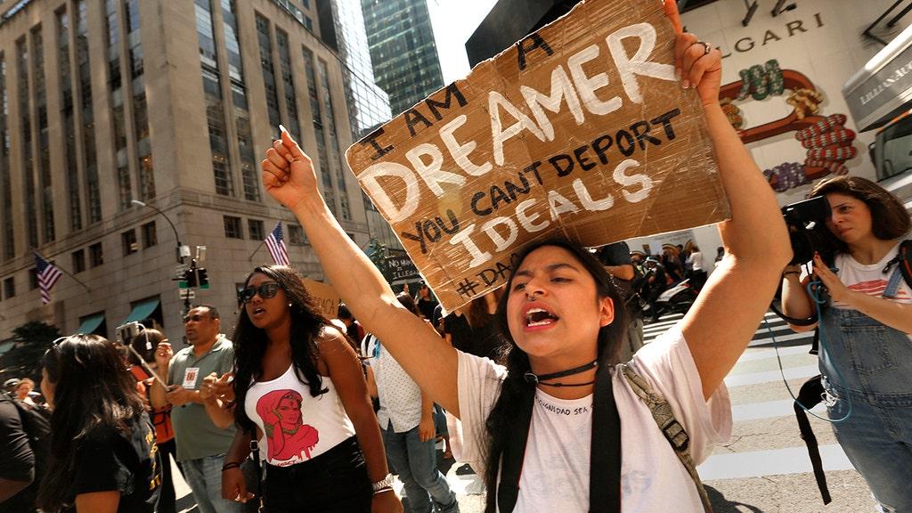 DOJ backs President Trump on 'lawful' ending of Obama's DACA