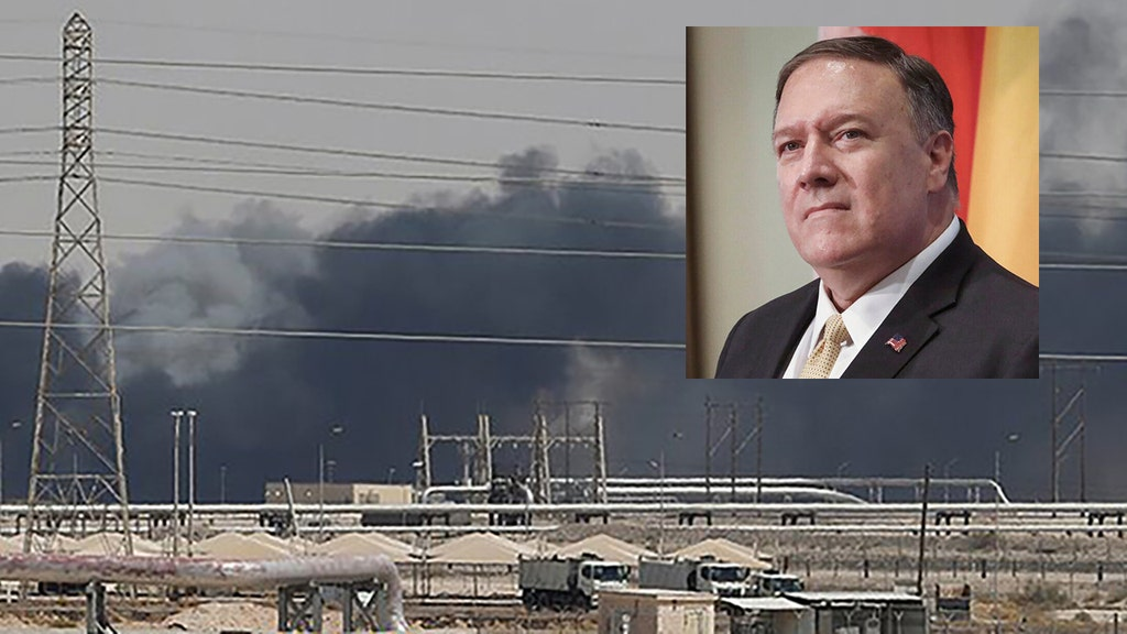 Tehran to blame for attacks on Saudi oil sites, Pompeo says
