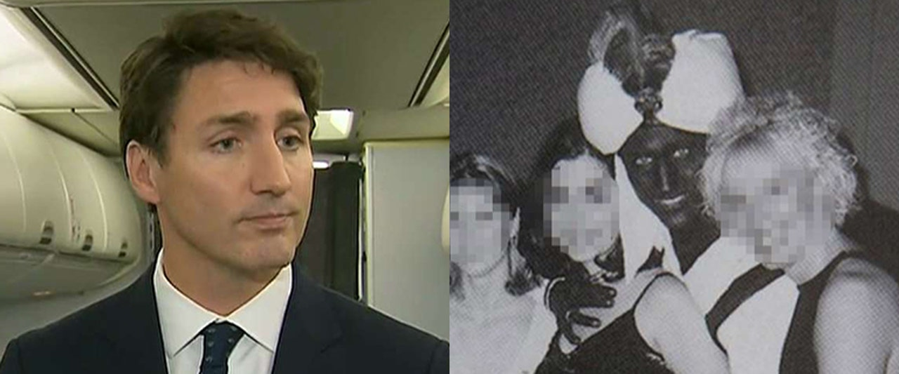 Canadian PM admits wearing brownface in 2001 photo, hints at similar stunt in high school