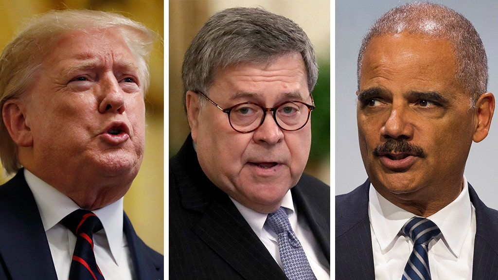 Obama AG Holder lobs chilling warning to Barr in Fox News interview