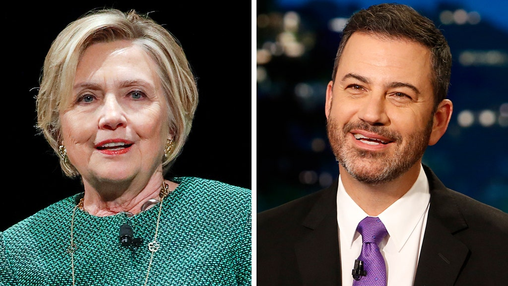 Clinton posts Kimmel's fake 'letter' trolling Trump, but it appears to backfire