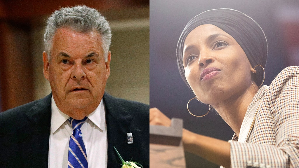 WATCH: GOP lawmaker responds to Omar dissing him with 'good riddance'