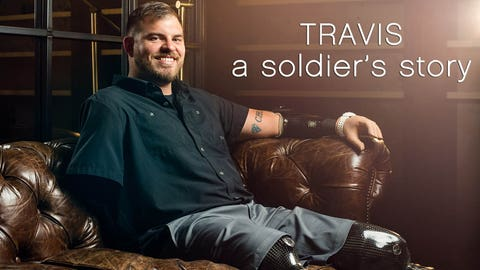 Watch the inspiring story of a wounded soldier