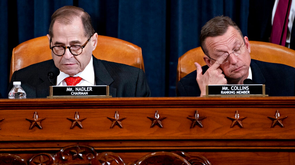 Furious Republicans unload on Nadler after impeachment delay