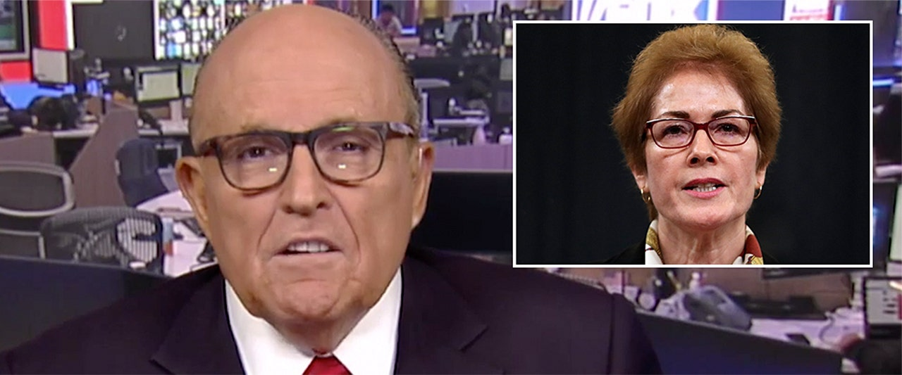 SEE IT: Giuliani says he forced out former Ukraine ambassador because she was 'corrupt'