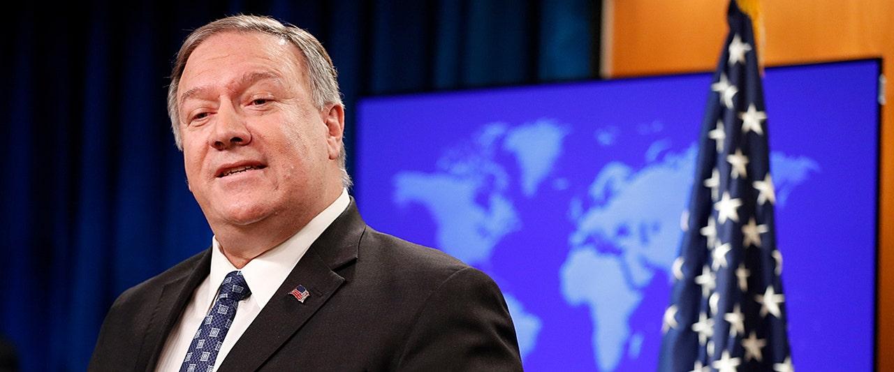 Pompeo scoffs at 'propaganda' claim Soleimani was on diplomatic mission in Iraq