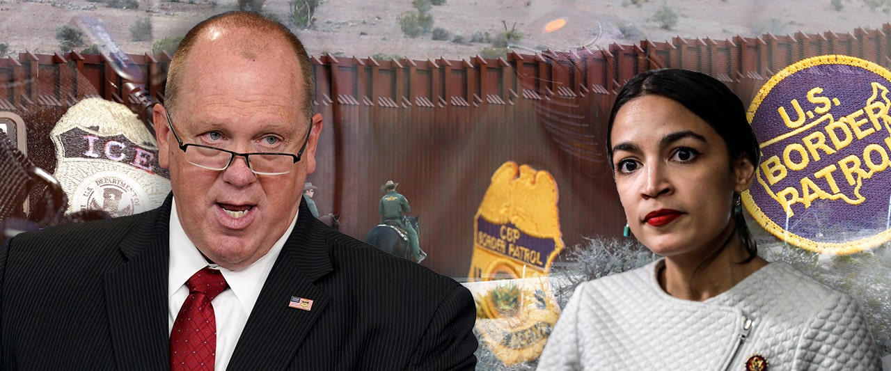 Ex-ICE chief Homan rips AOC after her 'idiotic' attack on agency, calls to 'tip off' illegal immigrants