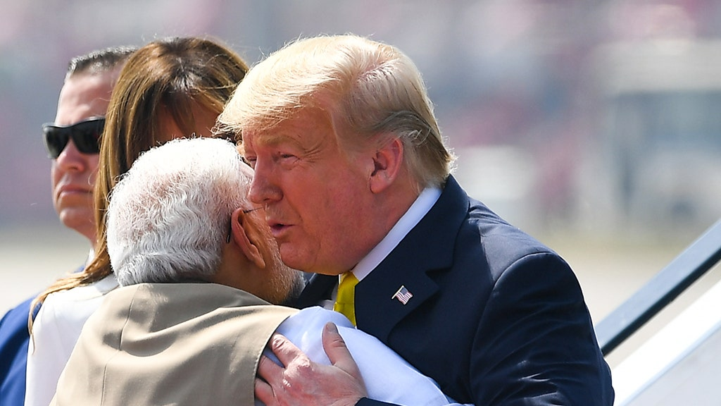 What to know about massive rally greeting US president in India