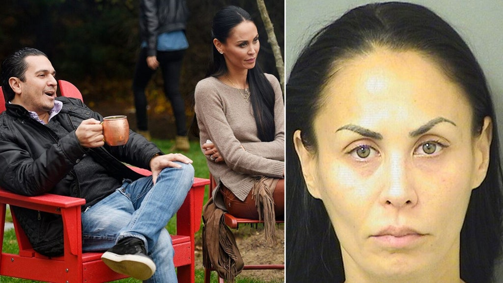 'Real Housewives' star arrested, estranged hubby gets protective order
