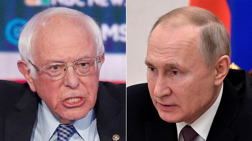 Sanders disavows reported Russian bids to boost him, calls Trump Putin 'friend'