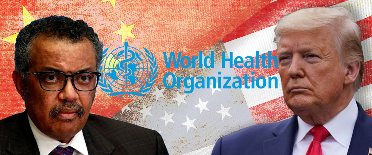 Trump questions global health group's coziness with China, hints at cutting off funding