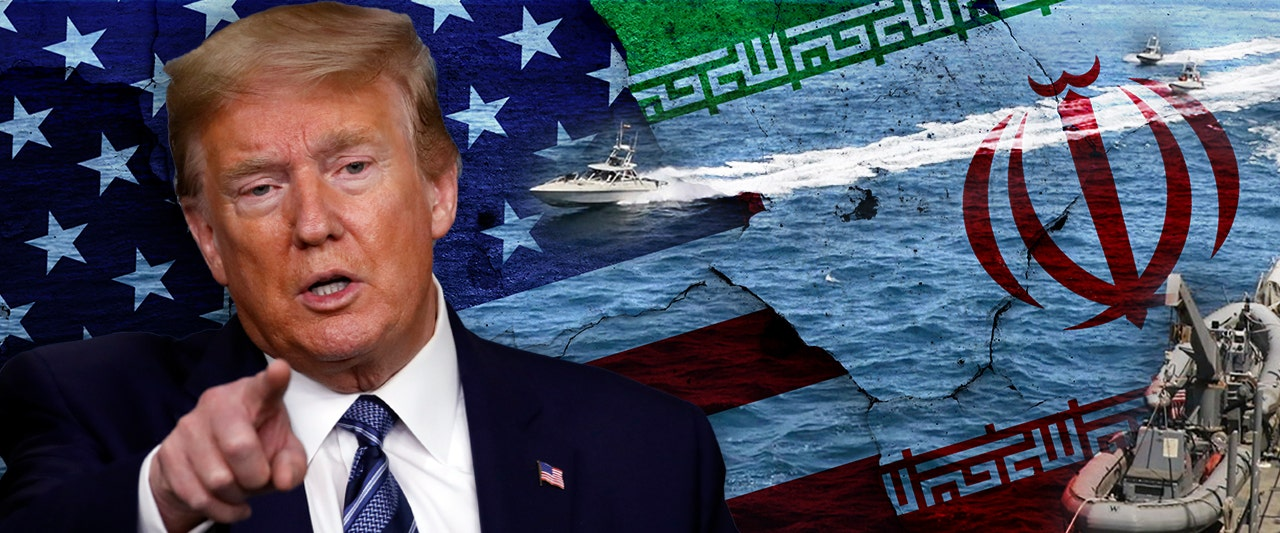 President Trump orders Navy to 'destroy' any Iranian gunboats that harass US ships