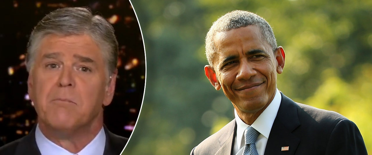 Hannity blasts 'truly disgusting' Obama letter on Biden-Ukraine probe