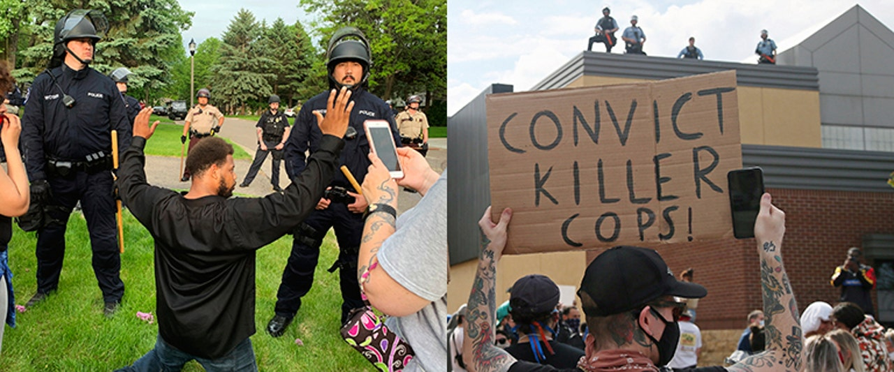 Heated protests, reports of looting as outrage grows over George Floyd death in Minnesota