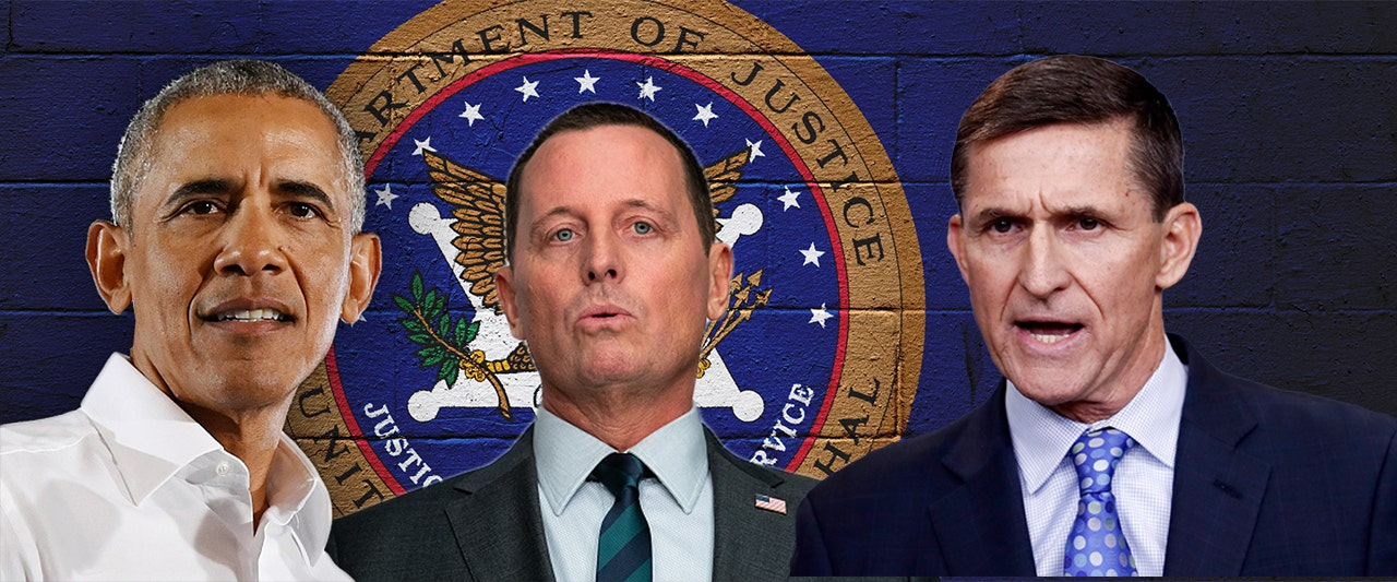 Grenell declassifies names of Obama admin members who spied on Flynn; release up to Barr