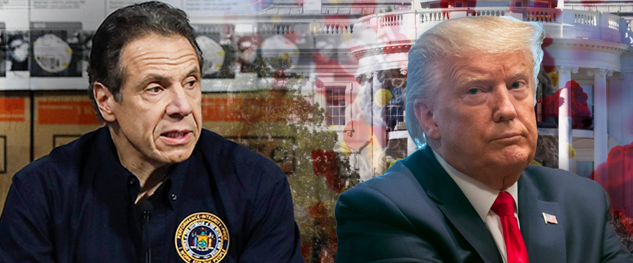 Under fire Cuomo tries to deflect NY's deadly nursing home debacle on to Trump