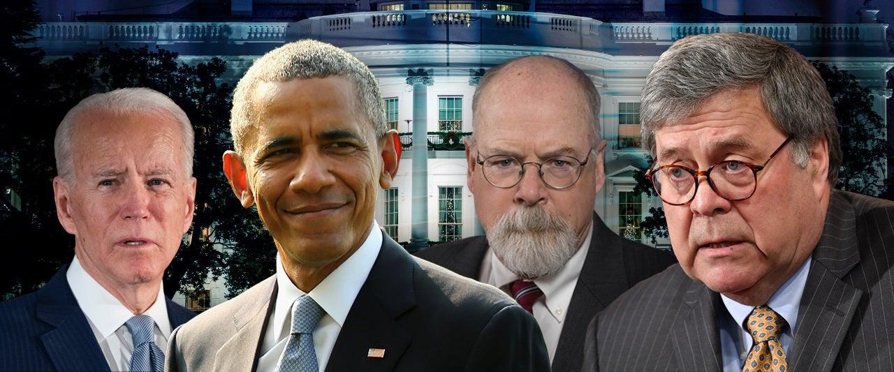 Barr does not expect criminal investigation of Obama or Biden as result of Durham probe