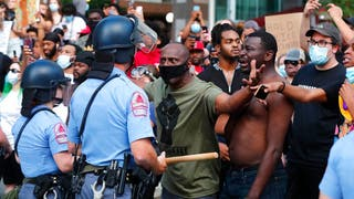 Big-city Dems who had imposed strict coronavirus lockdowns now let George Floyd rioters flout rules