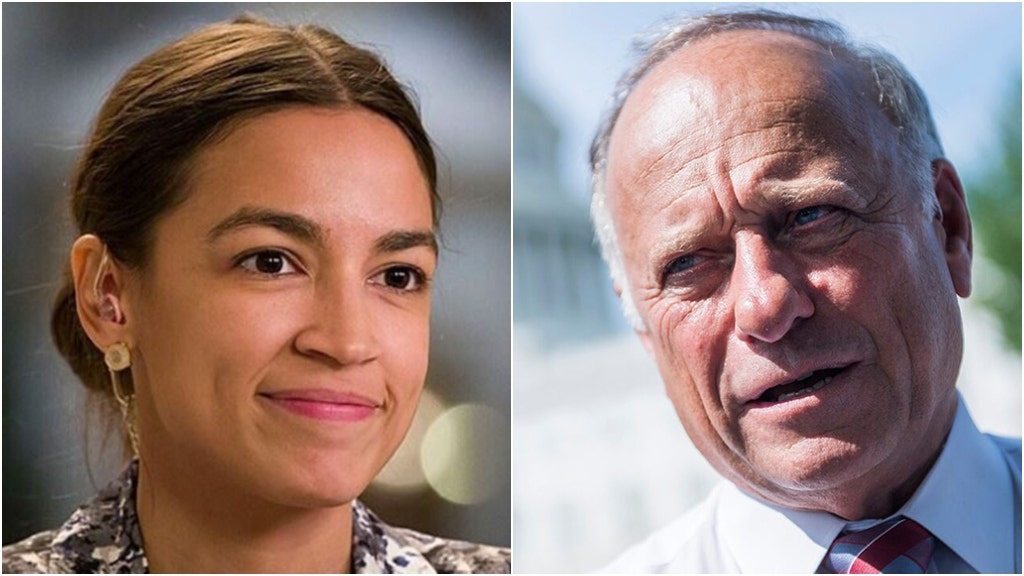 GOP chair cheers Steve King's primary loss, AOC goes on offensive