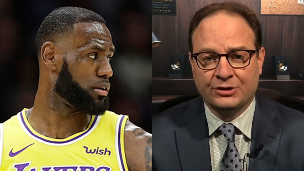 LeBron, others react to suspension of NBA writer who shot F-bomb at GOP sen