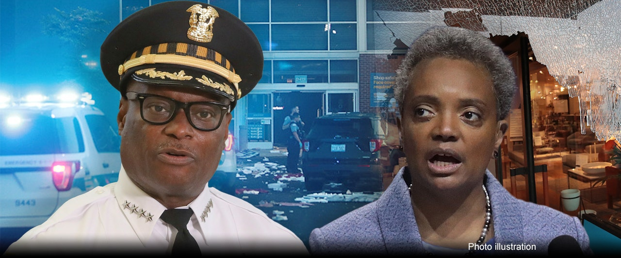 Chicago city leaders say rioters attacking police, looting with 'confidence,' more than 100 arrested