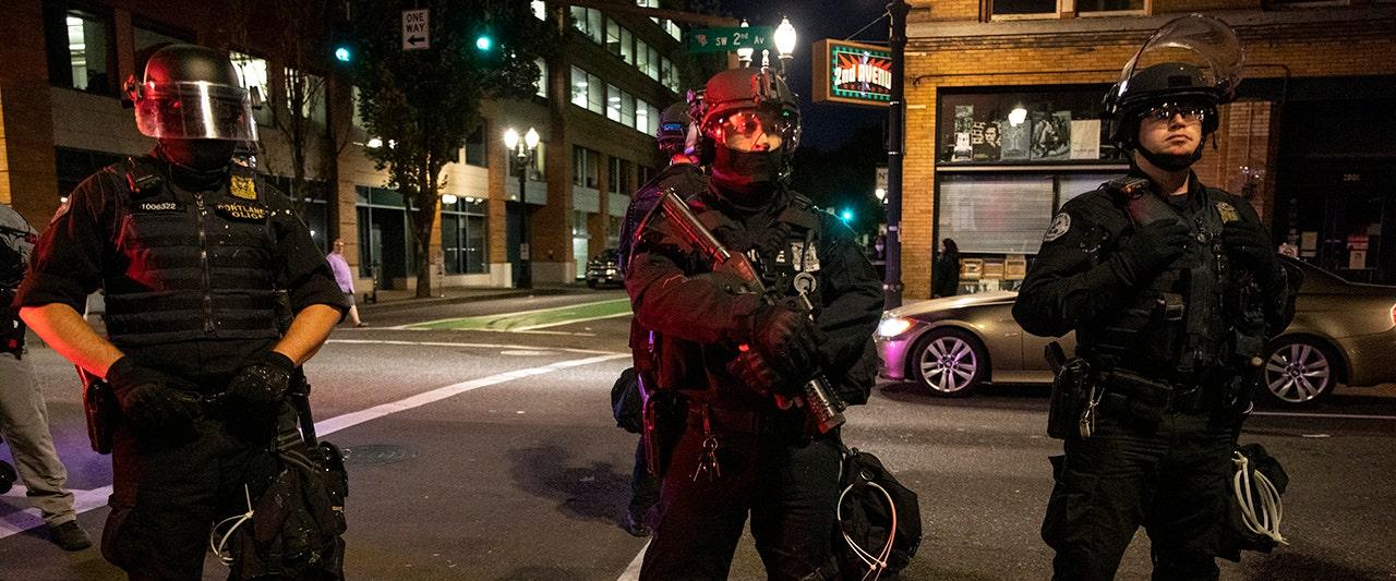 Speaker at apparent Antifa gathering heard cheering shooting death of Patriot Prayer backer
