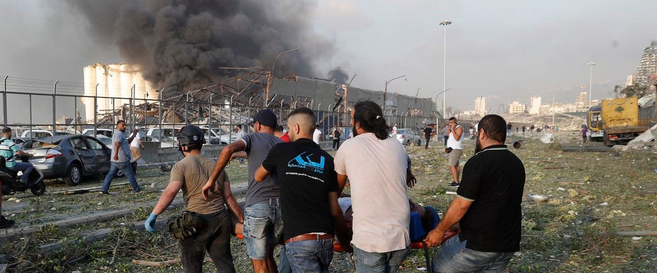 Beirut blast: Massive explosion shakes Lebanon's capital; at least 50 dead, thousands injured