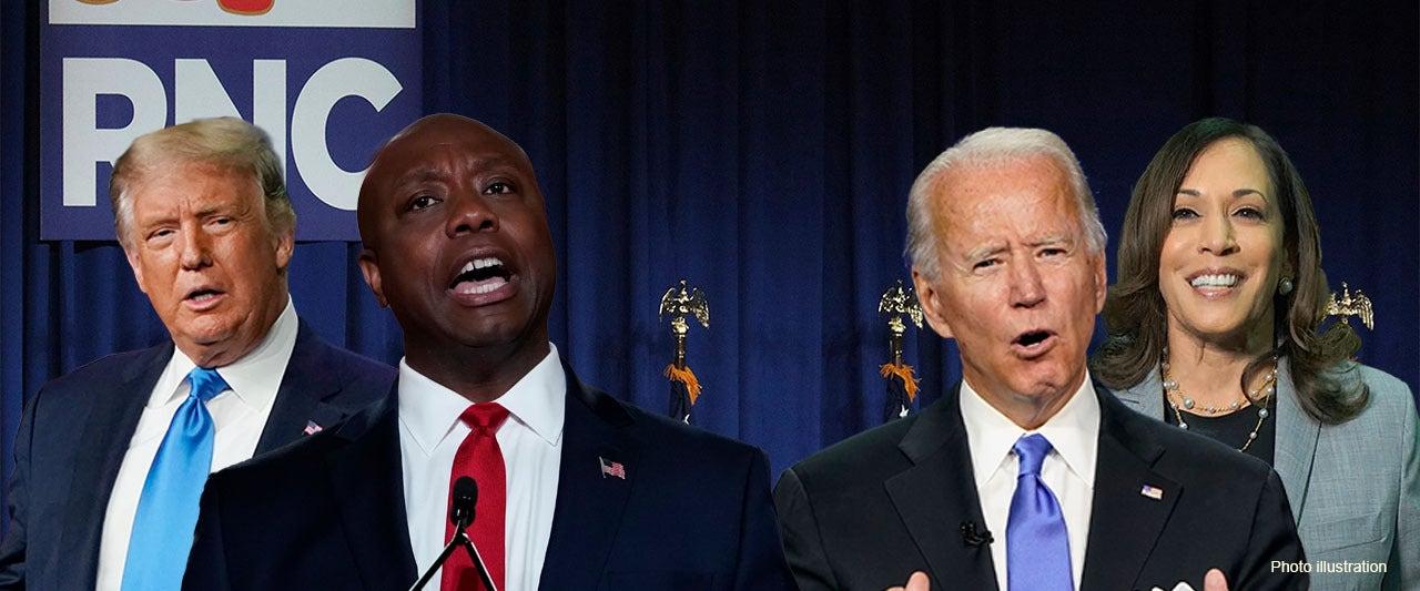 Senator Tim Scott urges nation to reject Biden-Harris ticket in deeply personal RNC speech