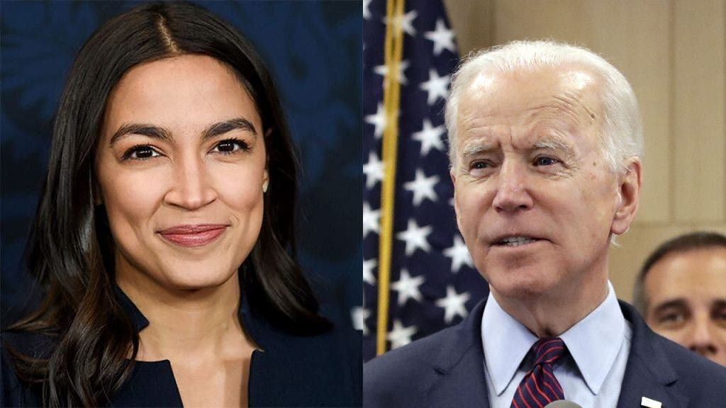 Biden says he doesn't support Green New Deal. His website says otherwise