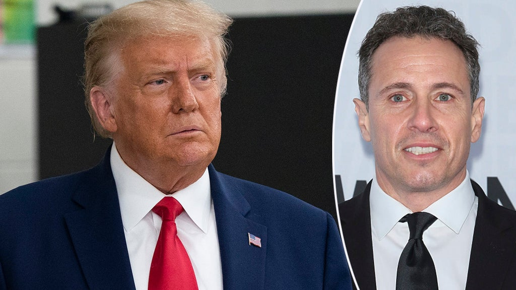 Trump calls on CNN to fire anchor Chris Cuomo over leaked audio
